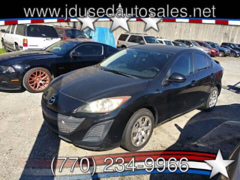 2010 Mazda MAZDA3 for sale at J D USED AUTO SALES INC in Doraville GA