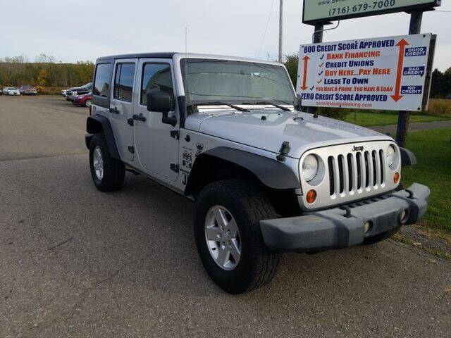 2009 Jeep Wrangler Unlimited for sale at Sensible Sales & Leasing in Fredonia NY