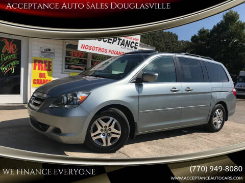 2007 Honda Odyssey for sale at Acceptance Auto Sales Douglasville in Douglasville GA