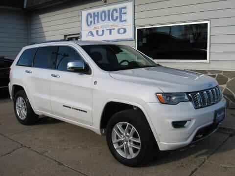 2018 Jeep Grand Cherokee for sale at Choice Auto in Carroll IA
