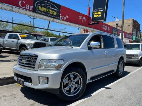 2008 Infiniti QX56 for sale at Manny Trucks in Chicago IL