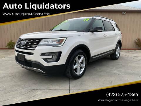 2017 Ford Explorer for sale at Auto Liquidators in Bluff City TN
