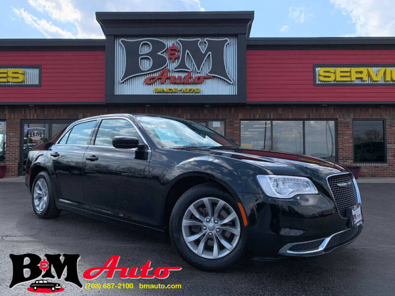 2019 Chrysler 300 for sale at B & M Auto Sales Inc. in Oak Forest IL