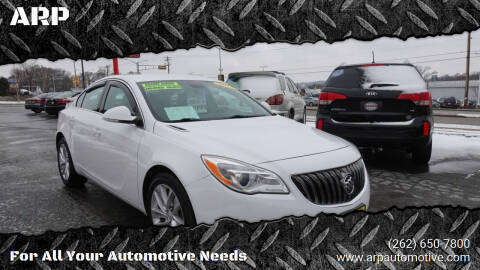2015 Buick Regal for sale at ARP in Waukesha WI
