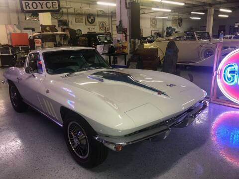 1966 Chevrolet Corvette for sale at Berliner Classic Motorcars Inc in Dania Beach FL