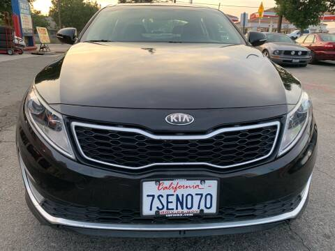 2013 Kia Optima Hybrid for sale at North County Auto in Oceanside CA