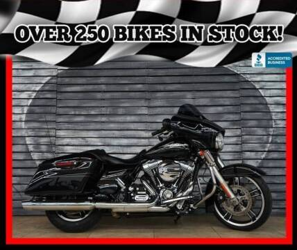 2015 Harley-Davidson Street Glide for sale at Motomaxcycles.com in Mesa AZ