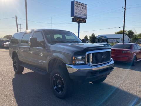 2000 Ford Excursion for sale at AFFORDABLY PRICED CARS LLC in Mountain Home ID