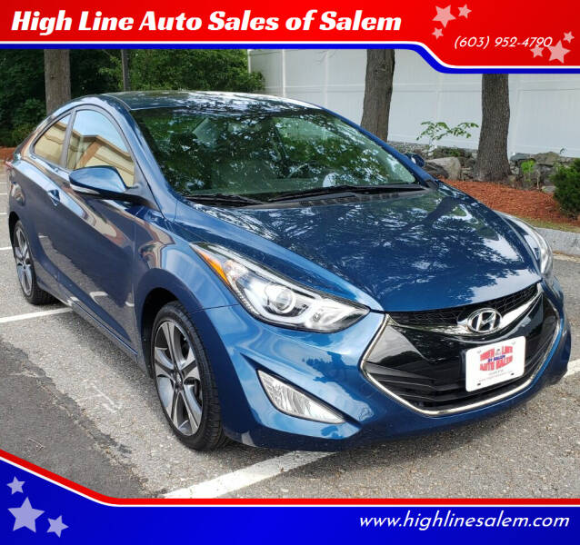 2014 Hyundai Elantra Coupe for sale at High Line Auto Sales of Salem in Salem NH