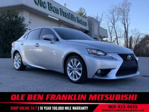 2014 Lexus IS 250 for sale at Ole Ben Franklin Mitsbishi in Oak Ridge TN