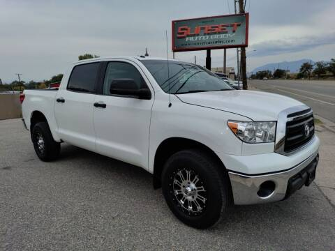 2012 Toyota Tundra for sale at Sunset Auto Body in Sunset UT