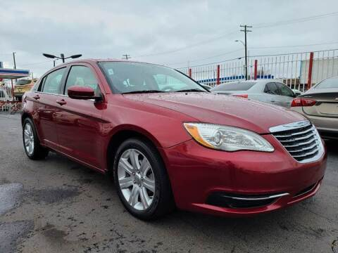 2012 Chrysler 200 for sale at NUMBER 1 CAR COMPANY in Warren MI