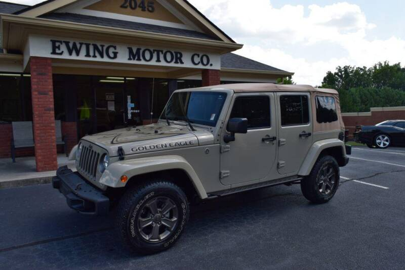 2018 Jeep Wrangler JK Unlimited for sale at Ewing Motor Company in Buford GA