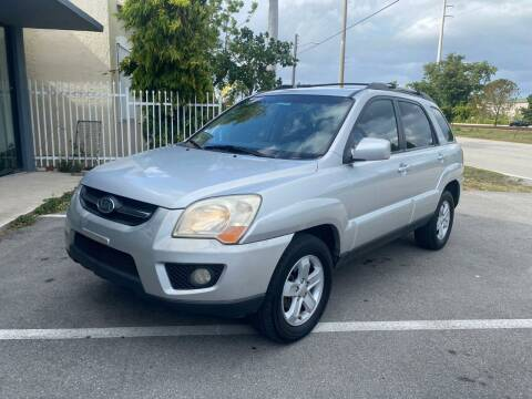 2009 Kia Sportage for sale at UNITED AUTO BROKERS in Hollywood FL