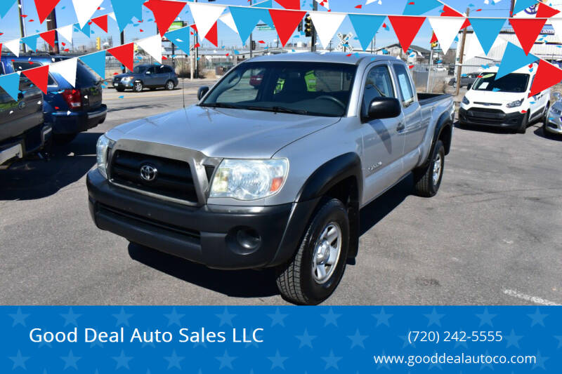 2008 Toyota Tacoma for sale at Good Deal Auto Sales LLC in Denver CO