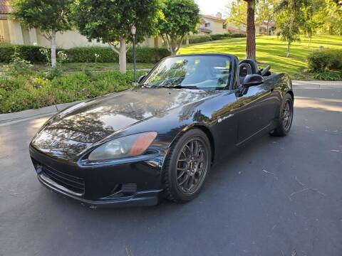 2003 Honda S2000 for sale at E MOTORCARS in Fullerton CA