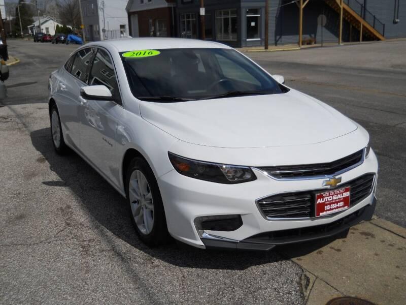 2016 Chevrolet Malibu for sale in New Richmond, OH