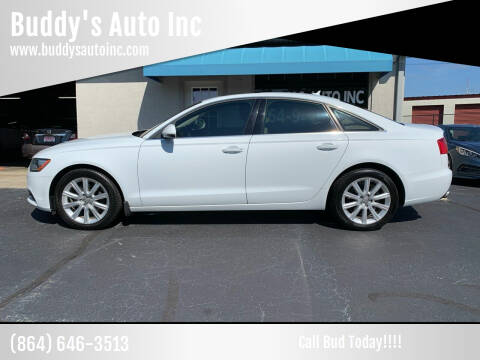 2013 Audi A6 for sale at Buddy's Auto Inc in Pendleton, SC
