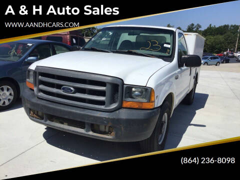 1999 Ford F-250 Super Duty for sale at A & H Auto Sales in Greenville SC
