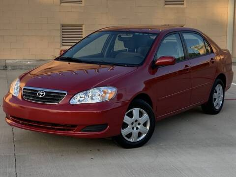 2006 Toyota Corolla for sale at Executive Motor Group in Houston TX