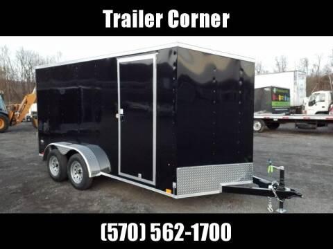 Look Trailers STLC 7X14 EXT HEIGHT - RAMP