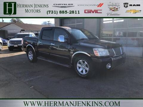 2004 Nissan Titan for sale at Herman Jenkins Used Cars in Union City TN