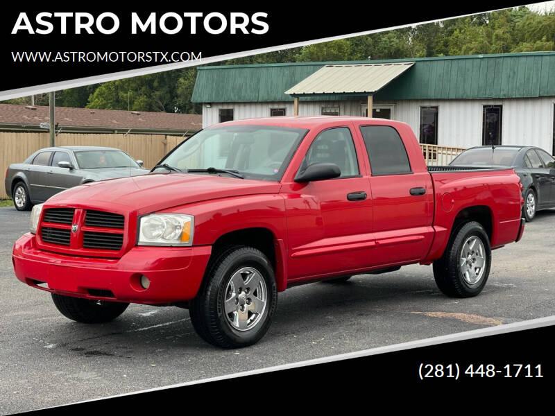 2006 Dodge Dakota for sale at ASTRO MOTORS in Houston TX