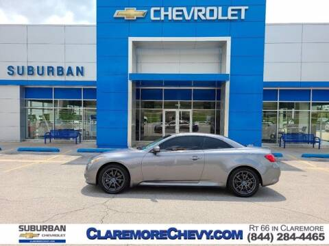2013 Infiniti G37 Convertible for sale at Suburban Chevrolet in Claremore OK