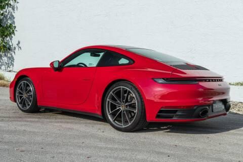 2020 Porsche 911 for sale at ZWECK in Miami FL