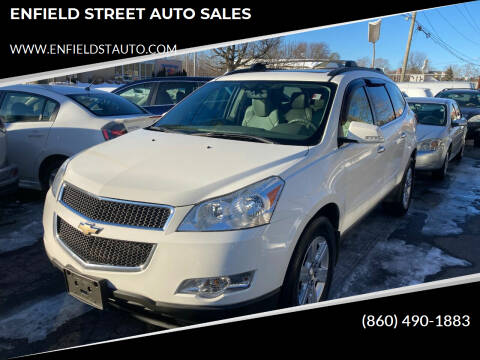 2012 Chevrolet Traverse for sale at ENFIELD STREET AUTO SALES in Enfield CT