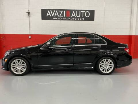 2008 Mercedes-Benz C-Class for sale at AVAZI AUTO GROUP LLC in Gaithersburg MD