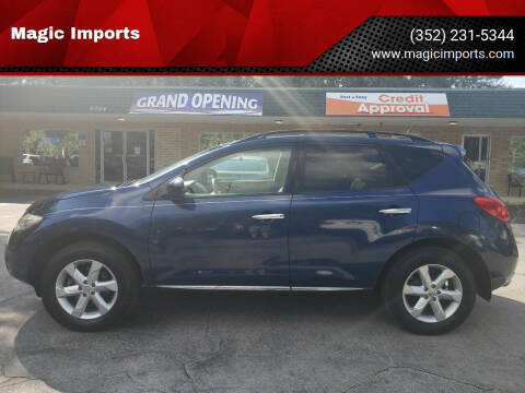 2010 Nissan Murano for sale at Magic Imports in Melrose FL