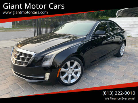 2015 Cadillac ATS for sale at Giant Motor Cars in Tampa FL