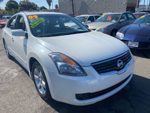 2009 Nissan Altima for sale at North County Auto in Oceanside CA