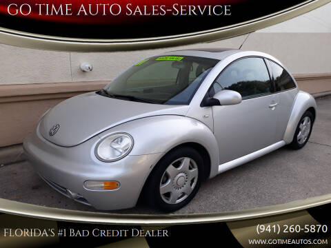 2001 Volkswagen New Beetle for sale at Go Time Automotive in Sarasota FL