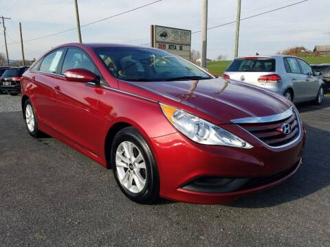 2014 Hyundai Sonata for sale at John Huber Automotive LLC in New Holland PA
