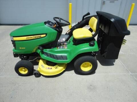 2006 John Deere X300 for sale at Quality Motors Inc in Vermillion SD