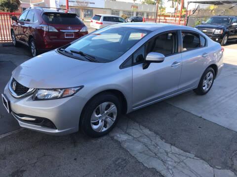 2015 Honda Civic for sale at Auto Emporium in Wilmington CA