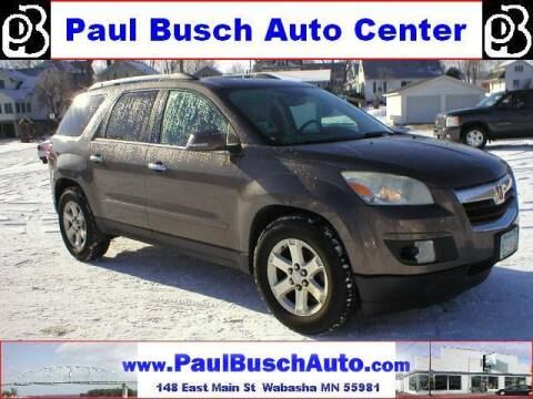 2010 Saturn Outlook for sale at Paul Busch Auto Center Inc in Wabasha MN