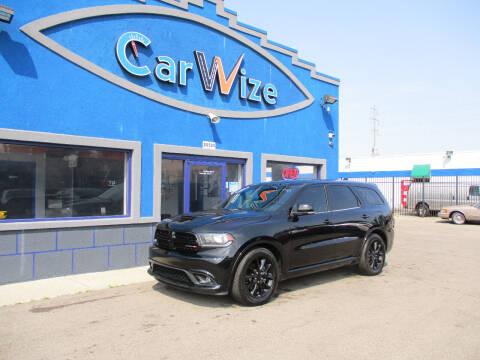 2017 Dodge Durango for sale at Carwize in Detroit MI