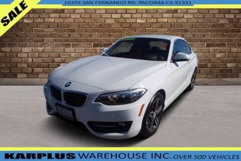 2017 BMW 2 Series for sale at Karplus Warehouse in Pacoima CA