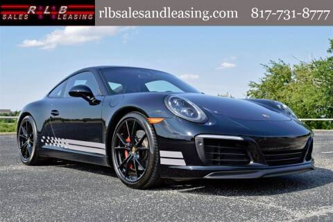 2017 Porsche 911 for sale at RLB Sales and Leasing in Fort Worth TX
