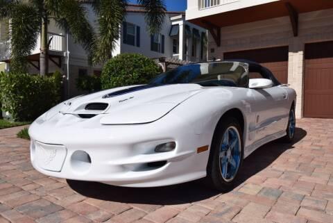 1999 Pontiac Firebird for sale at Sunshine Classics, LLC in Boca Raton FL