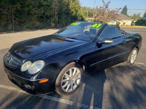 2007 Mercedes-Benz CLK for sale at TOP Auto BROKERS LLC in Vancouver WA