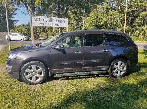 2016 Chevrolet Traverse for sale at McLaughlin Motorz in North Muskegon MI