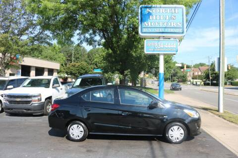 2020 Mitsubishi Mirage G4 for sale at North Hills Motors in Raleigh NC