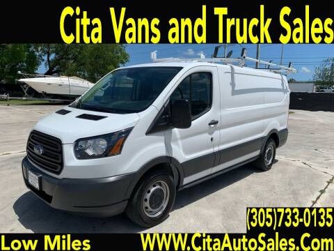 2018 Ford Transit Cargo for sale at Cita Auto Sales in Medley FL