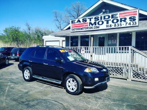 2004 Acura MDX for sale at EASTSIDE MOTORS in Tulsa OK