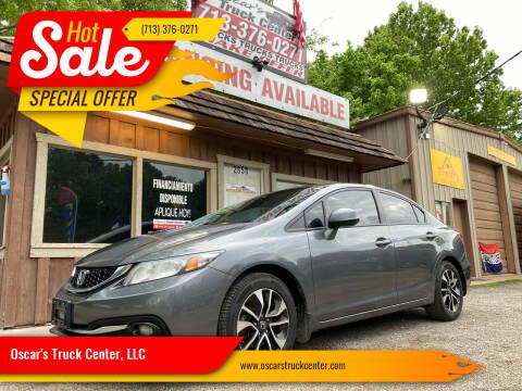 2013 Honda Civic for sale at Oscar's Truck Center, LLC in Houston TX