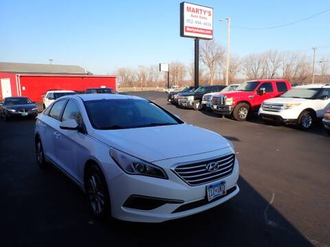 2016 Hyundai Sonata for sale at Marty's Auto Sales in Savage MN